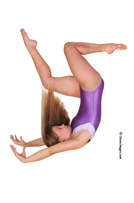 Gymnast in Free-fall